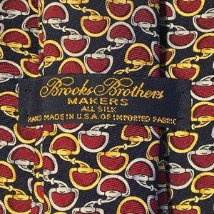 Brooks Brothers Makers Horsebit Silk Tie